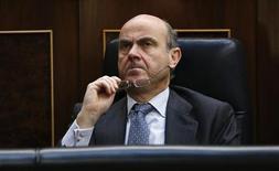 Il ministro dell'Economia spagnolo Luis De Guindos. REUTERS/Sergio Perez