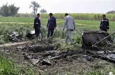 Dix-huit touristes européens - dont deux Français - et asiatiques ont été tués dans l'explosion d'une montgolfière près de la ville de Louxor en Egypte. Seuls un des passagers et le pilote de l'appareil ont survécu à l'accident. /Photo prise le 26 février 2013/REUTERS