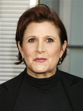 Actress Carrie Fisher briefly hospitalized after bipolar episode