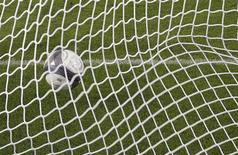 La France n'est pas concernée par les soupçons de matches truqués qui pèsent sur le football depuis la mise au jour d'un vaste réseau de corruption, assure Europol dans un courrier adressé à la Ligue de football professionnel (LFP). /Photo d'archives/REUTERS/Régis Duvignau