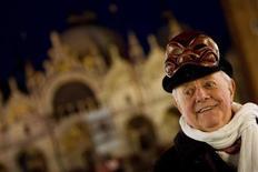 Il premio Nobel per la letturatura Dario Fo. REUTERS/Alessandro Bianchi
