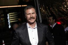 """Producer and actor Will Ferrell arrives at the premiere of the film """"Hansel and Gretel: Witch Hunters"""" at Grauman's Chinese Theatre in Hollywood, California January 24, 2013. REUTERS/Patrick Fallon"""