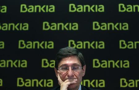 Bankia Chairman Jose Ignacio Goirigolzarri attends a news conference in Madrid February 28, 2013. REUTERS/Juan Medina