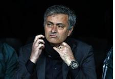 Une rue de Setubal au Portugal portera bientôt le nom de José Mourinho. L'entraîneur du Real Madrid est originaire de cette ville de 120.000 habitants. /Photo prise le 13 février 2013/REUTERS/Sergio Perez