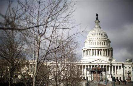 The U.S. Capitol Building is pictured in Washington, February 27, 2013. REUTERS/Jason Reed