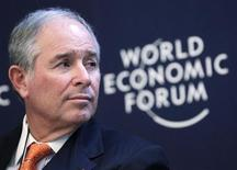 Stephen Schwarzman, chairman and CEO of the Blackstone Group, attends the annual meeting of the World Economic Forum in Davos January 24, 2013. REUTERS/Denis Balibouse