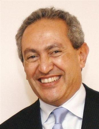 Nassef Sawiris, director and chief executive of Orascom Construction Industries (OCI) poses for a picture in Paris, December 10, 2007. REUTERS/Benoit Tessier