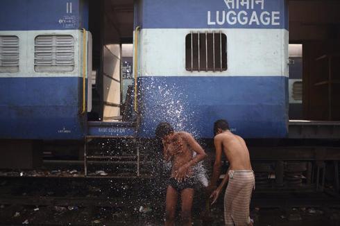 Public bathing
