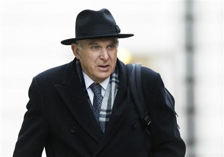 Britain's Business Secretary Vince Cable arrives for a cabinet meeting at Number 10 Downing Street in London January 15, 2013. REUTERS/Luke MacGregor