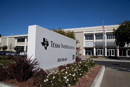 Texas Instruments' Santa Clara, California office is seen in a handout photo. REUTERS/Texas Instruments/Handout