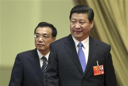 China's Xi flexes muscle, chooses reformist VP: sources