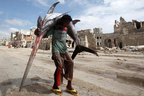 The fishermen of Mogadishu