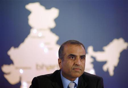 Bharti Enterprises chairman Sunil Mittal speaks during a news conference in Mumbai December 13, 2006. REUTERS/Punit Paranjpe/Files