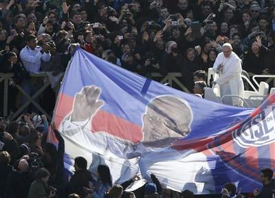 Pilgrims hope Francis can revive Church with simple values