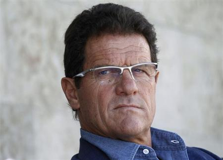 Fabio Capello looks on during a Russian Football Premier League match between Zenit St. Petersburg and Amkar Perm at the Petrovsky stadium in St.Petersburg, July 22, 2012. REUTERS/Alexander Demianchuk/Files