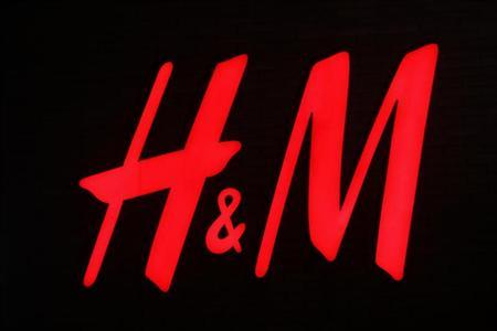 Logo of an H and M store pictured in Warsaw February 7, 2012. REUTERS/Peter Andrews