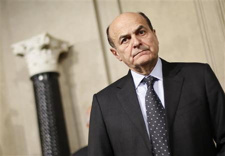 Italy president asks Bersani to see if can form government