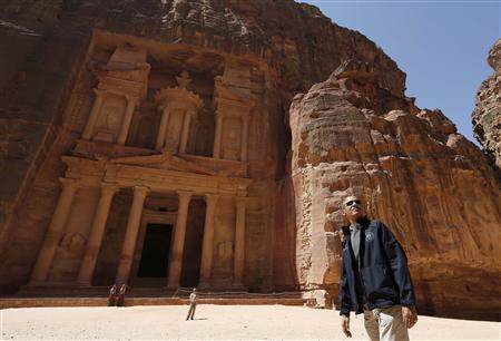Obama plays tourist in Petra at end of Middle East...