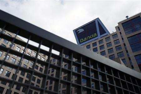 The headquarters of Spanish nationalized lender Bankia is pictured in Madrid March 22, 2013. REUTERS/Juan Medina