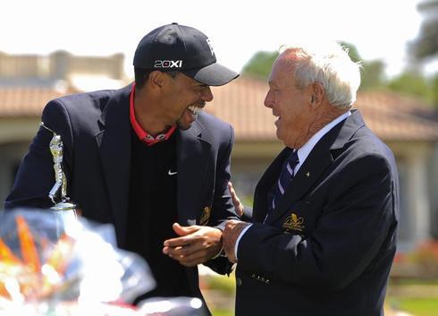 Tiger Woods' upswing