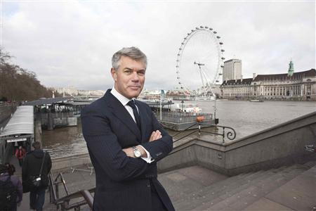 Ola Rollen, the president and chief executive officer of Hexagon, poses by the London Eye in this undated handout photo taken in London and provided to Reuters by Hexagon. In the shadow of well-known brands like Volvo and Ericsson, an acquisition-packed decade has made technology firm Hexagon one of Sweden's most valuable companies and a rare newcomer among its top blue chips. The company, market leader in precision measurement technology used in fields from microchip making to surveying dam construction, is now worth more than Swedish world number two white goods maker Electrolux after taking its business so far from its roots as to be unrecognisable. REUTERS/Hexagon/Handout