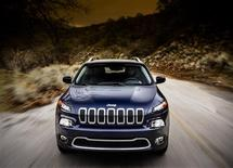 Chrysler's 2014 Jeep Cherokee is seen in an undated publicity photo. REUTERS/Chrysler/Handout