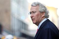Chief Executive Officer, Chairman, and Co-founder of Chesapeake Energy Corporation Aubrey McClendon walks through the French Quarter in New Orleans, Louisiana March 26, 2012. REUTERS/Sean Gardner
