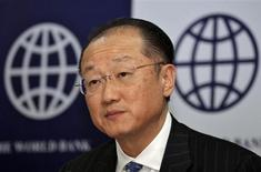 World Bank President Jim Yong Kim attends a news conference in New Delhi March 13, 2013. REUTERS/B Mathur