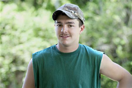 Shain Gandee, who starred in the MTV reality series ''Buckwild'' set in West Virginia, is shown in this undated publicity photograph released to Reuters April 1, 2013. Gandee was found dead in a car on April 1 in West Virginia, after being reported missing. REUTERS/Courtesy MTV/Handout