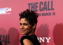 """Cast member Halle Berry poses at the premiere of """"The Call"""" in Los Angeles, California March 5, 2013. REUTERS/Mario Anzuoni"""
