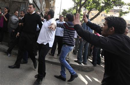 One dead, many wounded in Cairo cathedral clashes