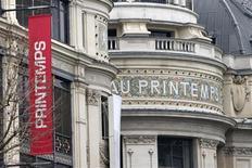 Les investisseurs qataris en passe de reprendre la totalité du capital du Printemps n'excluent pas d'ouvrir l'enseigne à l'international comme d'étendre le réseau de magasins en France. /Photo prise le 5 avril 2013/REUTERS/Charles Platiau