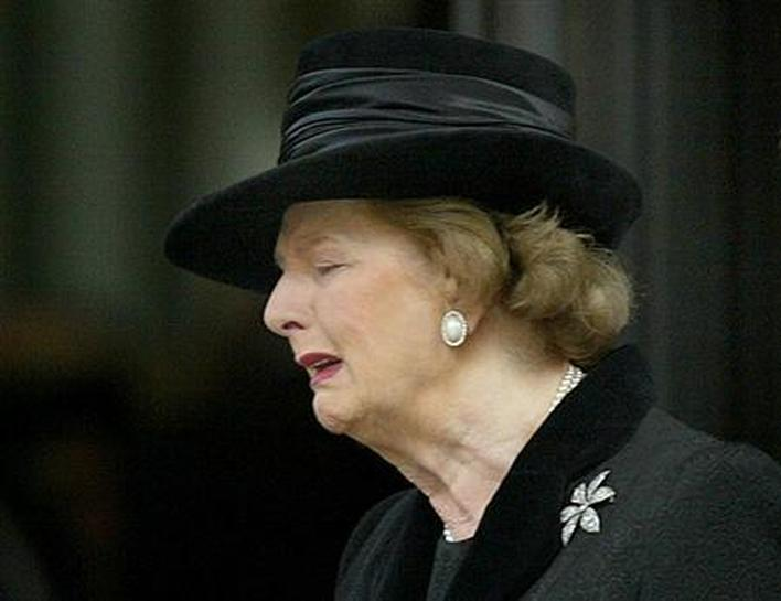 Ceremonial Funeral For Britain S Thatcher Reuters