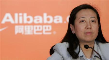 Alibaba.com Chief Financial Officer Maggie Wu attends the company's 2007 annual results news conference in Hong Kong March 18, 2008. REUTERS/Victor Fraile