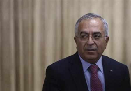 Palestinian Prime Minister Salam Fayyad attends an opening reception of Conference on Cooperation among East Asian Countries for Palestinian Delevopment (CEAPAD) in Tokyo February 13, 2013. REUTERS/Issei Kato