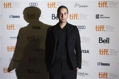 "Director and writer Brandon Cronenberg arrives on the red carpet for the gala presentation of the film ""Antiviral"" at the 37th Toronto International Film Festival September 10, 2012. REUTERS/Mark Blinch"