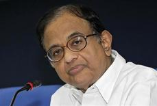 India's Finance Minister Palaniappan Chidambaram speaks during a news conference in New Delhi March 20, 2013. REUTERS/B Mathur