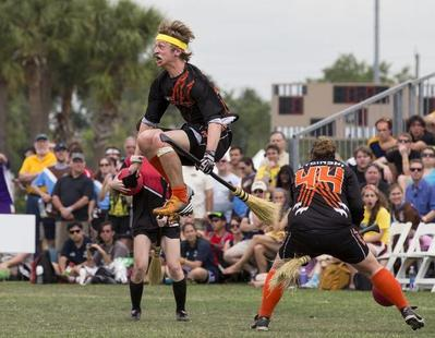 The wizardry of Quidditch