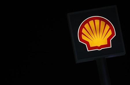 A Shell logo is seen at a petrol station in Ankara March 6, 2012. REUTERS/Umit Bektas