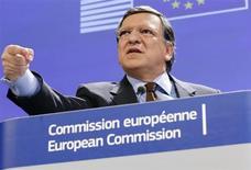 La politique d'austérité en Europe a atteint ses limites, estime le président de la Commission européenne, José Manuel Barroso. /Photo prise le 25 mars 2013/REUTERS/François Lenoir