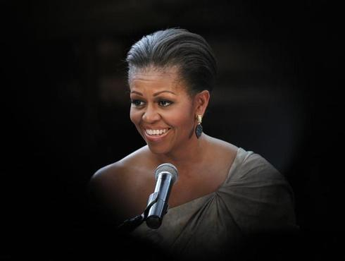 Michelle Obama's hair styles
