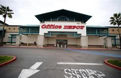 An Office Depot store is pictured in Encinitas, California, February 19, 2013. REUTERS/Mike Blake