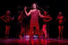 Actor Billy Porter performs with The Angels during a performance of the play Kinky Boots in this undated handout photo provided by public relations company O&M Co. on April, 30, 2013. REUTERS/O&M Co./Matthew Murphy/Handout