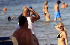 """A Charm el Cheikh, station balnéaire égyptienne sur la mer Rouge. """"Les bikinis sont les bienvenus en Egypte où l'on continue de servir de l'alcool"""", a déclaré dimanche le ministre égyptien du Tourisme, Hisham Zaazou. /Photo d'archives/REUTERS/Amr Abdallah Dalsh"""