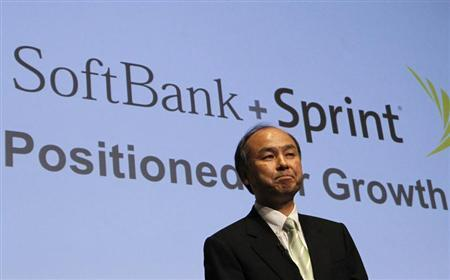 Softbank Corp President Masayoshi Son speaks during a news conference in Tokyo April 30, 2013. REUTERS/Yuya Shino