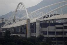 Foto do exterior do Estádio Olímpico Municipal João Havelange, no Rio de Janeiro. em 27/03/2013. REUTERS/Ricardo Moraes