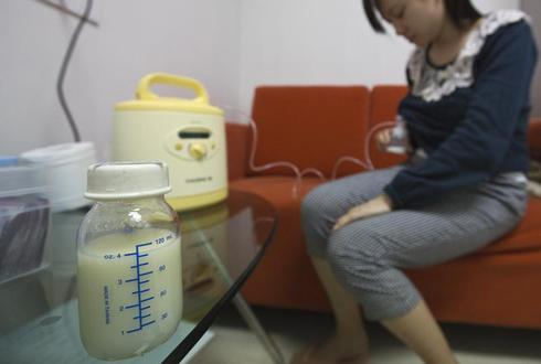 China's breast milk bank