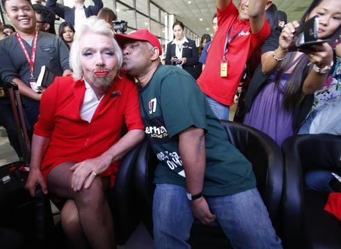 Richard Branson's feminine side