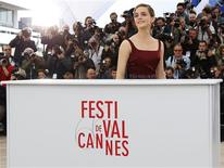 Cast member Emma Watson poses during a photocall for the film 'The Bling Ring' during the 66th Cannes Film Festival in Cannes May 16, 2013. REUTERS/Yves Herman