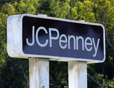 A JC Penney department store sign is shown in Oceanside, California in this file photo taken November 5, 2012. REUTERS/Mike Blake/Files